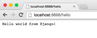 Django应用的运行情况