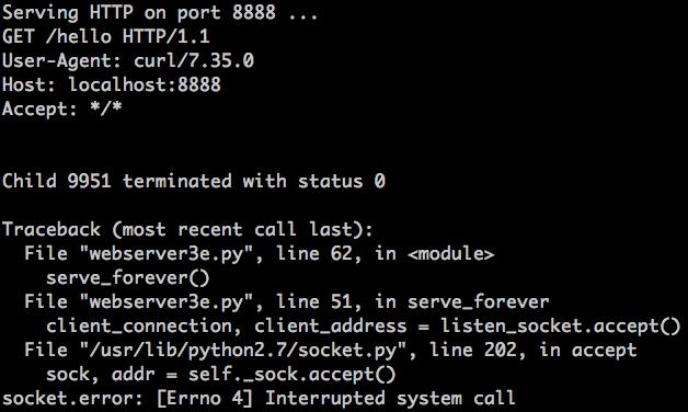 修改后的并发服务器处理请求